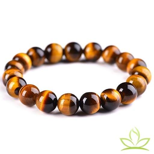 bracelet mala oeil de tigre