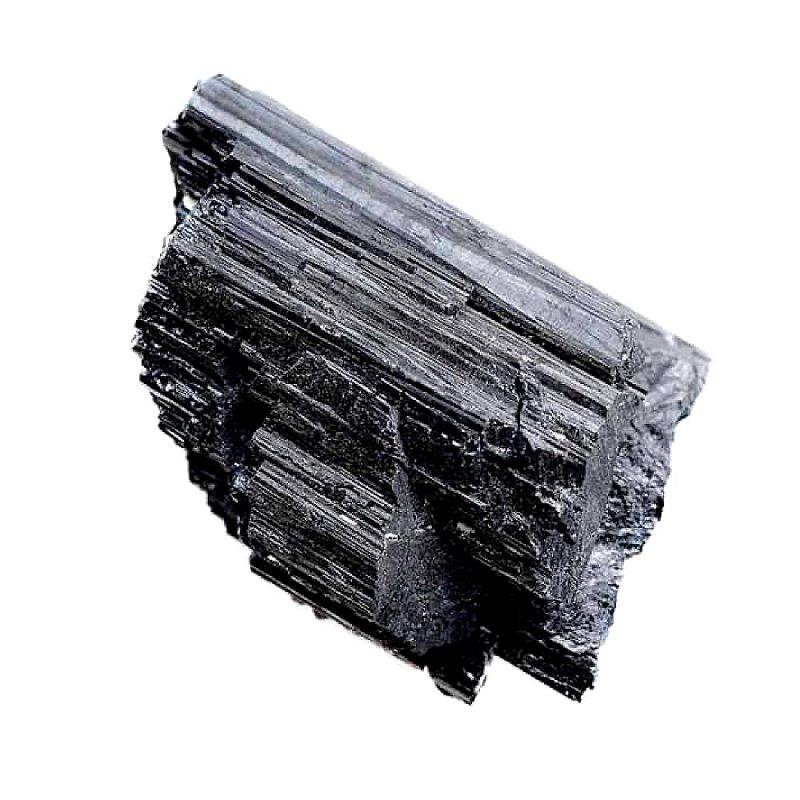 pierre en tourmaline noire