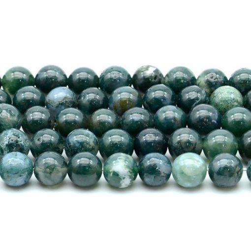 Perles Jaspe Vert