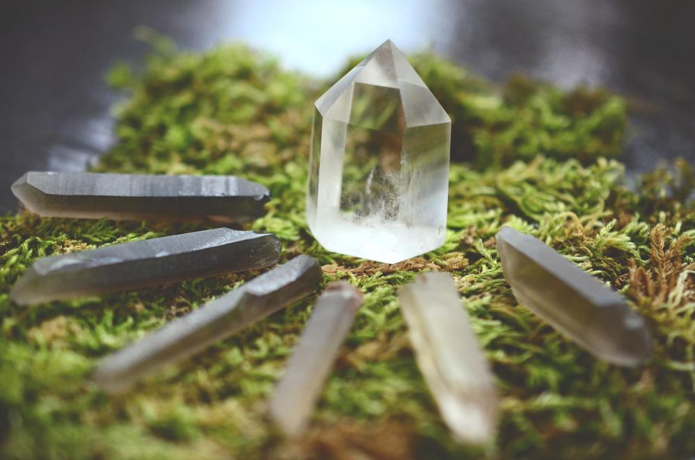 le quartz clair