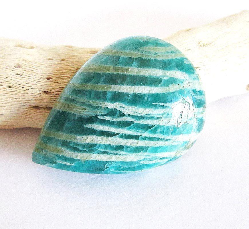 Amazonite bleue