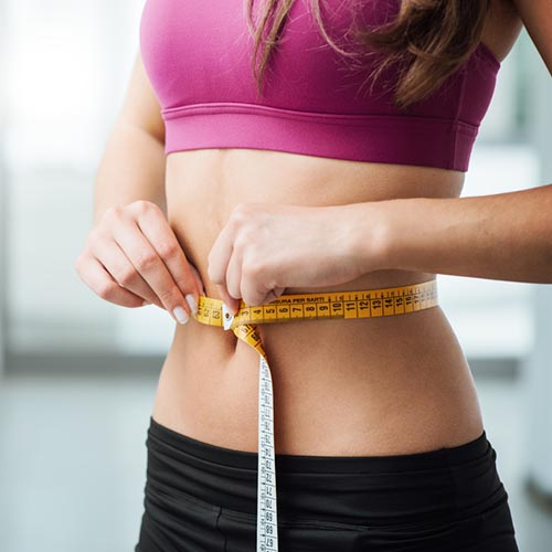 Crystal et perte de poids
