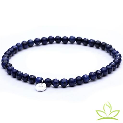 Lapis Lazuli Bracelet Mala Perles Naturelles