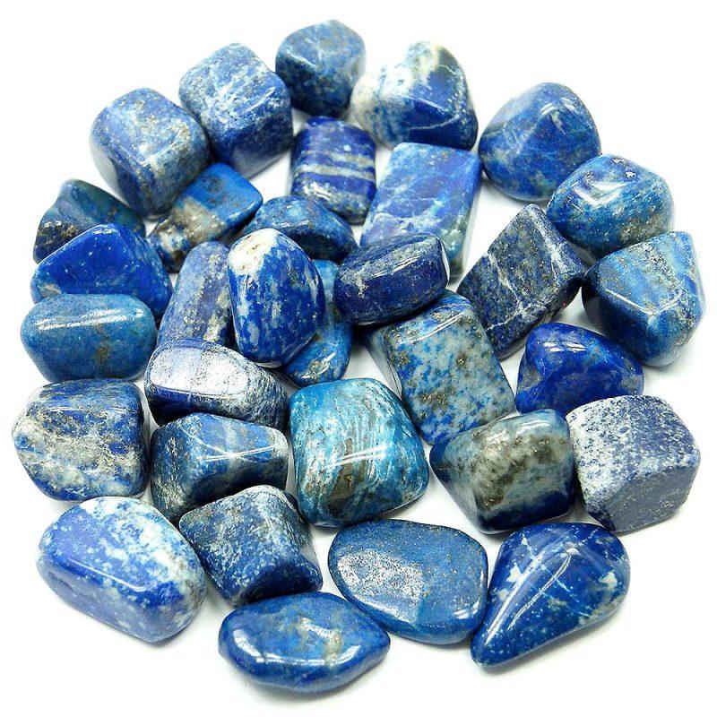 Lapis lazuli de couleur bleue