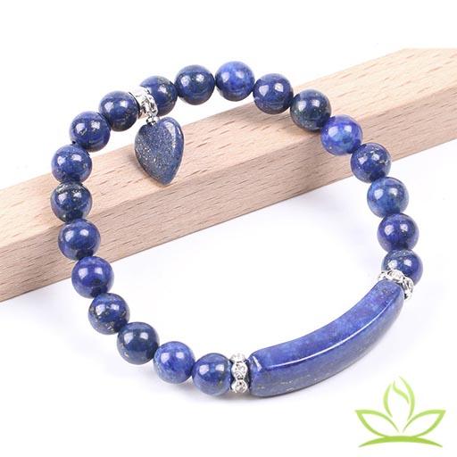 Bracelet Mala en Lapis Lazuli 3