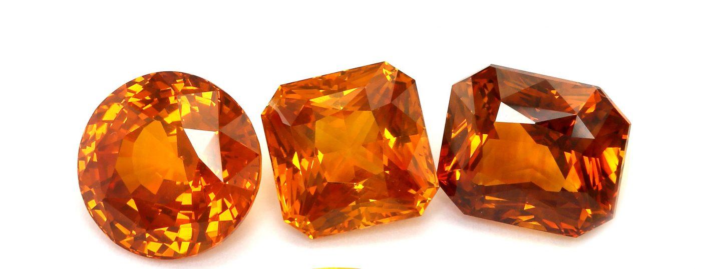 Pierre Saphir Orange