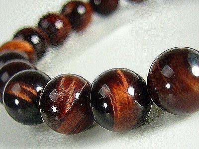 bracelet en oeil de tigre et perles