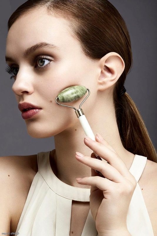 rouleau de jade pour visage
