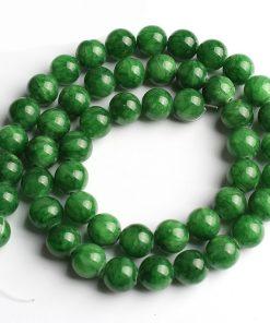 Bracelet En Jade Vert Véritable
